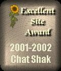 CHAT SHAK EXCELLENT SITE AWARD